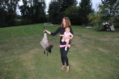 canadian goose backyard bbq or cuisine