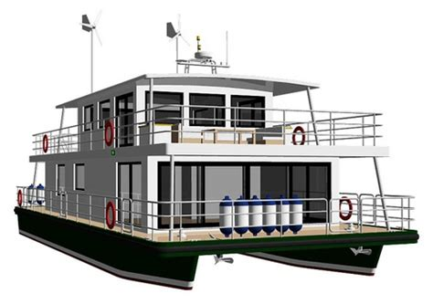 catamaran pontoon design houseboat pontoon design page 2 boat design forums