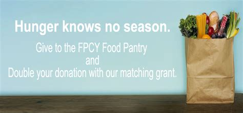 Food Pantry Grants For Churches by Your Donation With Our Food Pantry Matching Grant