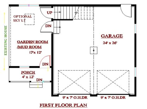garage addition floor plans garage addition plans cadsmith studio cape style garage w loft grm 2426c plans for additon