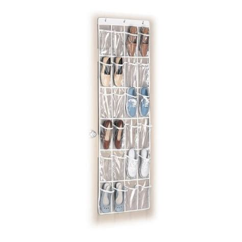 whitmor supreme white over the door shoe organizer amazon highly rated whitmor white crystal collection