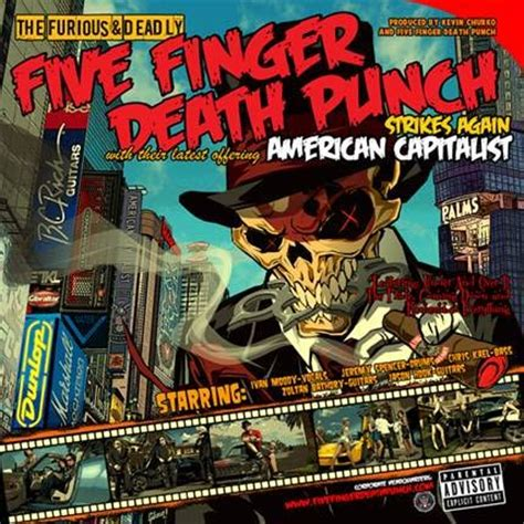 """five finger death punch to release """"american capitalist"""