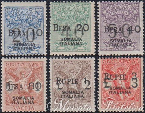 vaglia d italia segnatasse vaglia somalia francobolli colonie italiane