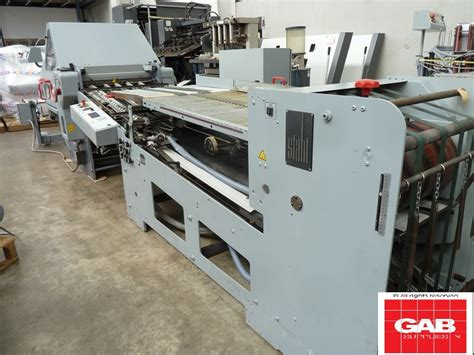 Stahl Paper Folding Machine - folders used finishing machines stahl kd 66 4ktl paper