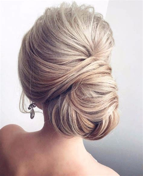 Wedding Hairstyles Updo Chignon wedding hairstyle for hair side chignon bun updo
