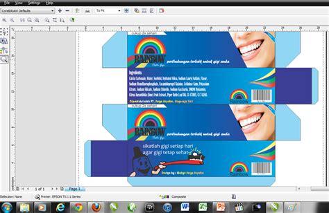 cara membuat layout desain grafis cara membuat desain kemasan di coreldraw