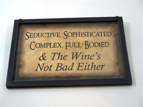 rustic wood wine sayings themed signs wall art plaques ebay