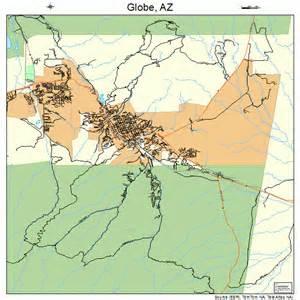 globe arizona map 0428030
