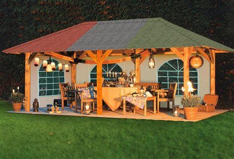 karibu holzpavillon 187 lillehammer 1 171 kaufen otto - Holzpavillon Kaufen
