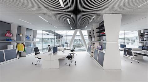 architecture design company adidas office interior design by kinzo architecture