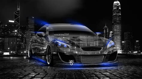 Hyundai Genesis Coupe Tuning City Car 2014 El Tony
