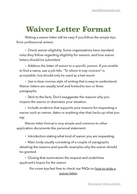 Gmat Waiver Request Letter Exle fee waiver request letter sle images cv letter and format sle letter