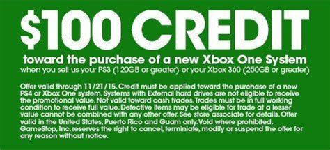 cheap ps3 console gamestop gamestop s offering an xbox one for 100
