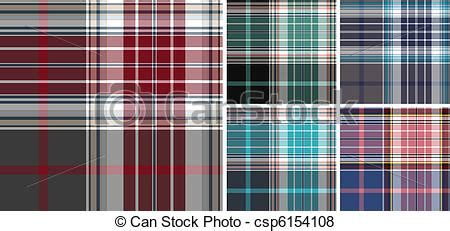 check pattern en francais vector of plaid fabric check pattern collection csp6154108