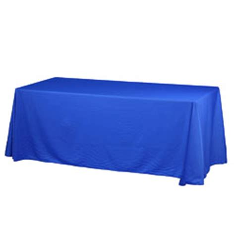 Royal Blue Table Covers by 6 Ft Royal Blue Table Cover Adds To The Overall Showcase