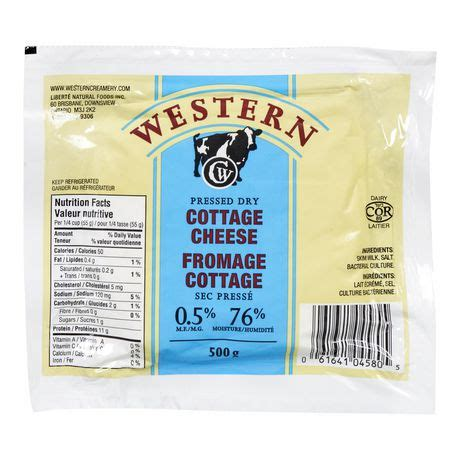 western pressed dry cottage cheese | walmart canada