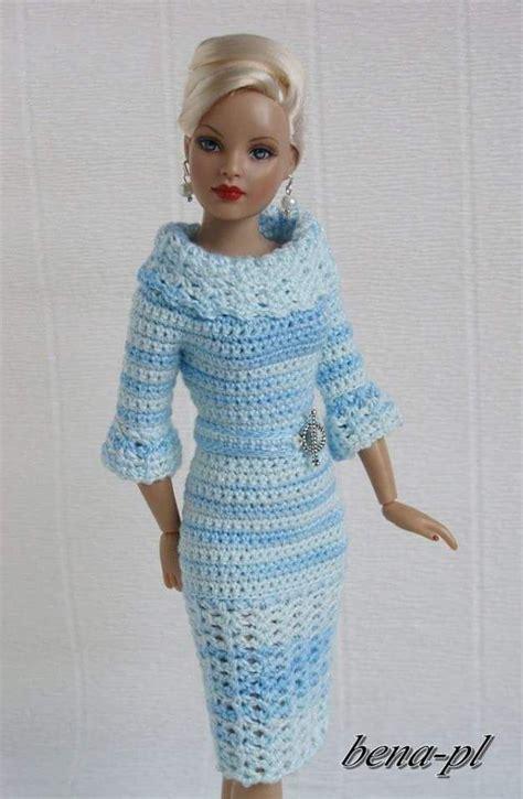 pattern barbie clothes 194 best images about crochet barbie on pinterest