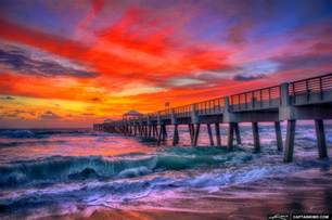 colorful beaches colorful at juno pier the atlantic