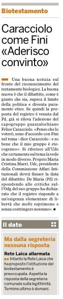 registro generale dei testamenti felice caracciolo rete laica bologna