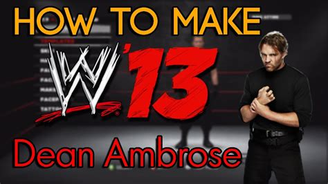 How To Make A by 13 How To Make Dean Ambrose The Shield