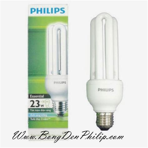 Lu Philips Essential 23w b 243 ng ä 232 n compact philips 23w â 3u essential