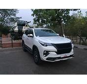 Custom Toyota Fortuner Bodykit By Tithum  In Images