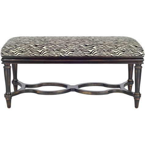 animal print upholstered bench safavieh garret zebra print upholstered bench