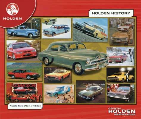 holden history holden history series 1 jigsaw by blue opal bl00302