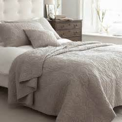 Quilts Bedspreads Kingston Taupe Quilted Bedspread Taupe Cotton Bedspread