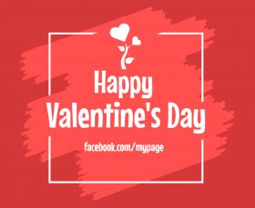 Facebook Valentine S Day Post Graphics Templates Post Design Template
