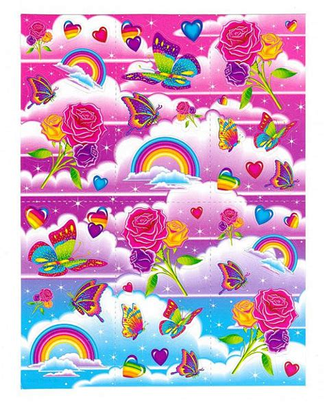 C40 Wallpaper Sticker Green With Butterfly frank rainbows roses and butterflies sticker sheet unnumbered reprint on etsy 1 99