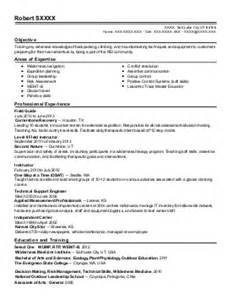 Recreation Counselor Sle Resume by 3 602 Fitness And Recreation Resume Exles Sles Livecareer