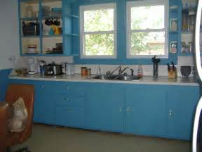 Painting Kitchen Cabinets Blue Paint Chips And Frying Pans Kitchen Redo 200 Budget Pt 7 Newly Painted Cabinets