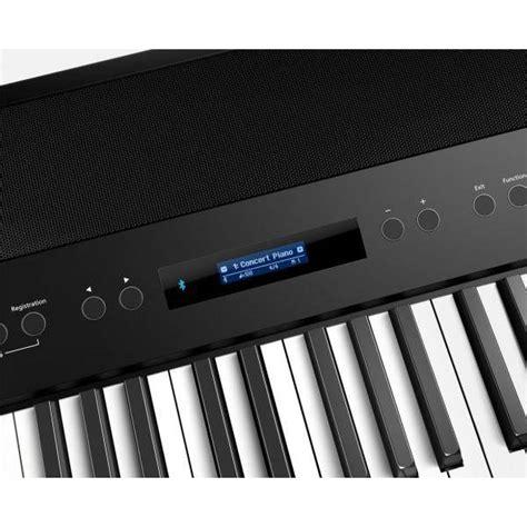 comprar roland fp  bk piano digital musicopolix