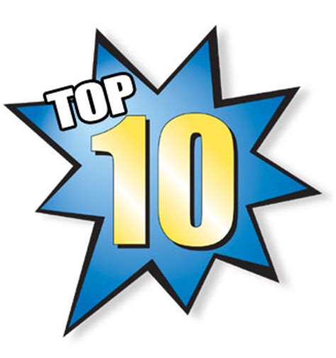 what are the top 10 i spit on your taste my top ten of all time