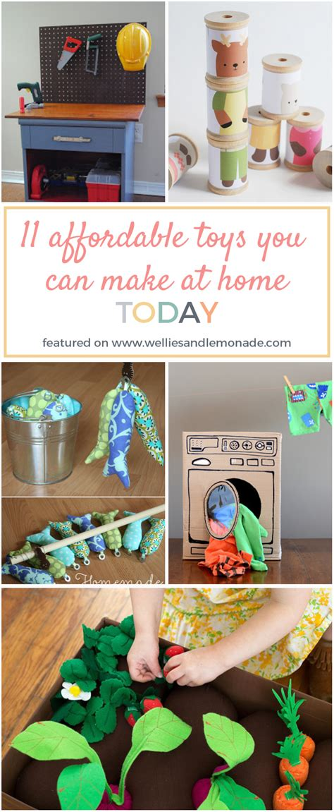 Handmade Toys For Toddlers - 11 affordable toys you can make at home today wellies