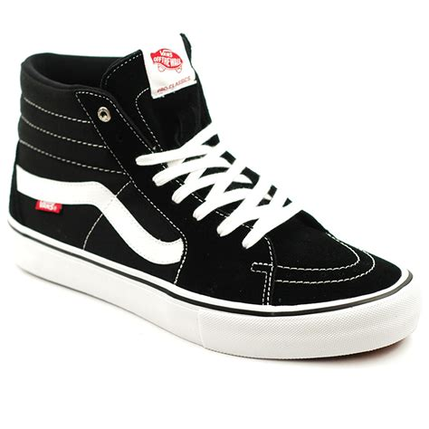 Vans Sk8 Hi Black Waffle Icc2 vans sk8 hi pro black white forty two skateboard shop