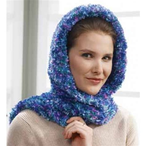 free knitting pattern hooded scarf pockets mary maxim free hooded scarf wrap knit pattern