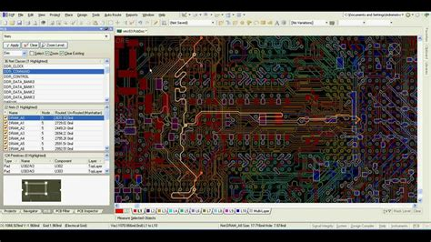 pcb layout guidelines for ddr2 altium designer ddr2 ddr3 length matching youtube