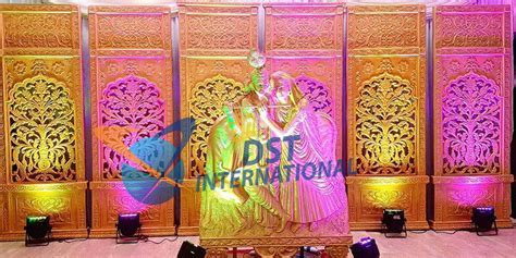 Traditional Fiber Panels   Wedding Stages