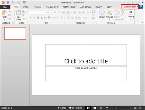 powerpoint tutorial windows 7 sign in sign out and switch accounts in powerpoint 2013
