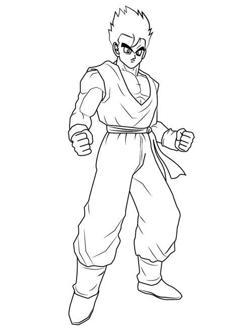 Como Desenhar o Gohan de Dragon Ball Z (Muito Fácil