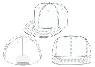 18 Template Back Baseball Hat Snap Images Blank Black Snapback Hats Template Snapback Hat Snapback Design Template