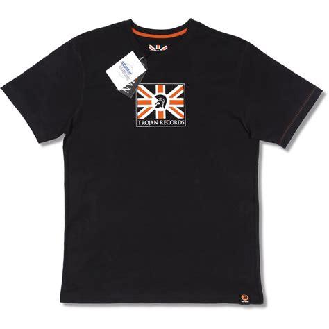 Tshirt Trojan 4 trojan records limited edition skin ska union flag