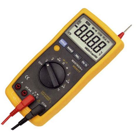 Multimeter Digital Mastech digital multimeter mastech ms8217 digital multimeter manual and auto scaling data hold