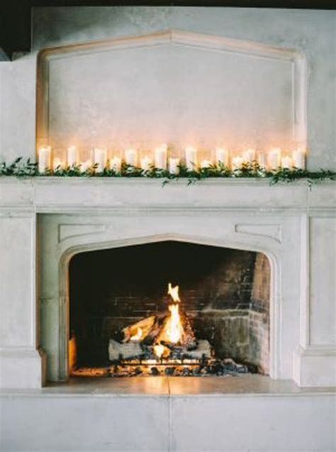 Fireplace Wedding Altar by 30 Winter Wedding Arches And Altars To Get Inspired