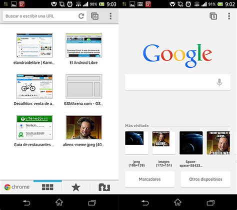 active and new chrome home page phoneia