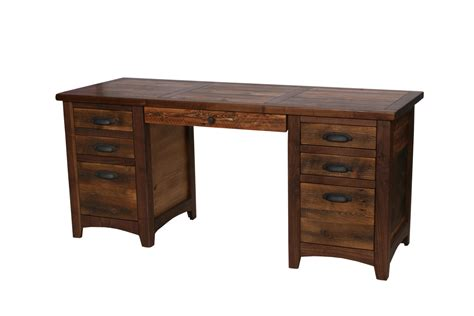 rustic wood desk rustic walnut executive desk rustic desk wood desk rustic