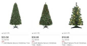 target christmas trees for 50 off starting as low as 7