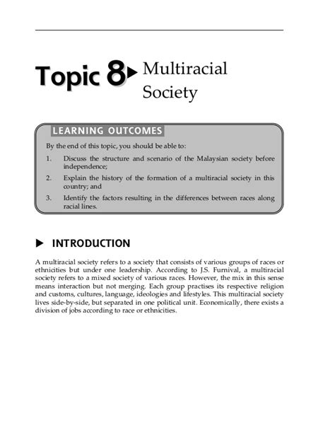 Multiracial Society Essay by Essay Of Ethnic Relation In Malaysia Cardiacthesis X Fc2